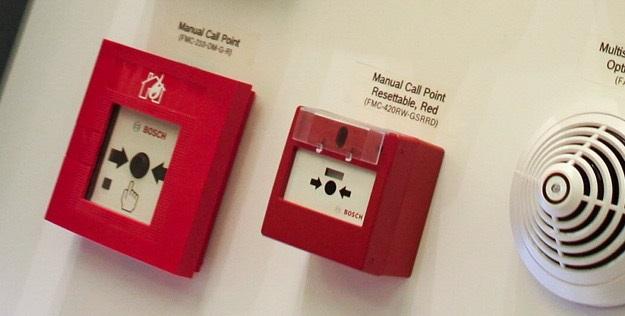 Systemy sygnalizacji pożaru SAP i DSO 1